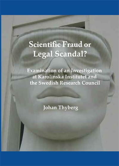 Scientific fraud or legal scandal?