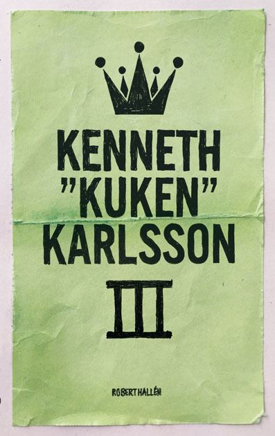 "Kenneth ""Kuken"" Karlsson - vol III"